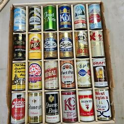 24 Tough Tab Tops Beer Can Collection Goebel Cloud Nine Ski Country Gold Label
