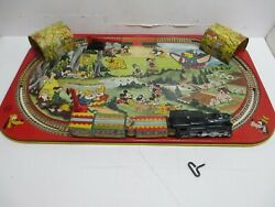 Disney Wind-up Train Made By Marx Excellent Condition