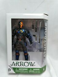 Deathstroke Dc Collectibles Cwand039s Arrow Action Figure Unopened