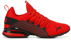 Puma Axelion Interest Stripe Men#x27;s Shoes Sneakers Running Trainers Gym Workout