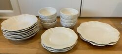 Lenox Butler's Pantry Dish Dinnerware Set Lot Of 20 Pieces Perfect Condition