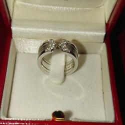 C2 Ring With Diamond From Japan Fedex No.1315