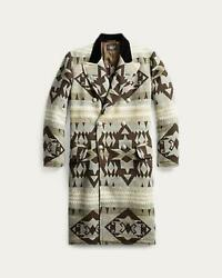 Rrl Double Is Coat Native Blanket Vintage Limited From Japan Fedex No.8661