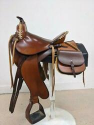 14 Used Synergist Light Weight Western Trail Saddle 442-2747