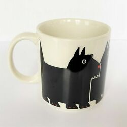Mug By Taylor And Ng Scottie Dogs Scotty Minimals 1984 Mint