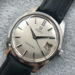Omega Seamaster Round Ss Screw Back Watches From Japan Fedex No.1278