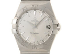 Omega Constellation Quartz Silver Dial Ss Stainless No.1721