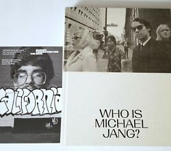 Michael Jang Signed Art Book Photo California Who Is 1st Ed Photography Zine