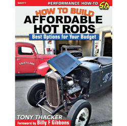 S-a Books Book - How To Build Affordable Hot Rods - 176 Pages - Paperback - Each