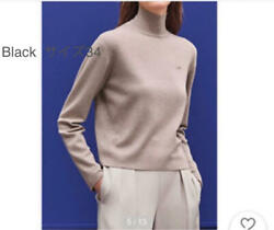 Hermes 2020aw Silk Cashmere Standup Color Knit From Japan Fedex No.7113