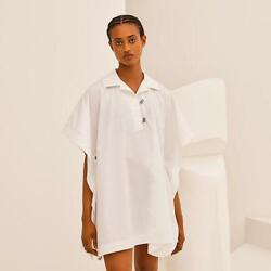 Hermes Beach Tunic Shirt Blouse Sold Out From Japan Fedex No.7127
