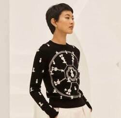 Hermes Popular Sold Out Rare Knit Sweater Cashmere From Japan Fedex No.7289