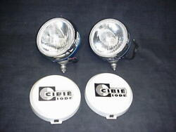 Vintage Pair Of Cibie Off Road Rally Lights Oscar Ford Dodge Chevy 4x4 Porschee