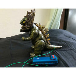 This Is Jirass Tin Godzilla39s Younger Brother. Vintage 26 Cm This Size Comple