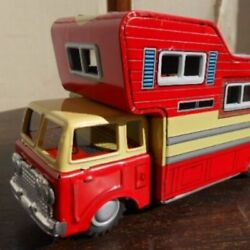 Super Rare Beautiful Goods Tin Toys Camper With Box Made In Japan Toys East Toy