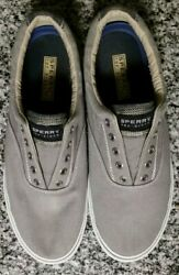 Sperrys Top Siders No Laces Boat Shoes Men's 10.5