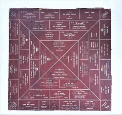 Antique 29 Queen Anne's Centreville Md Advertising Board Game Art Table Top
