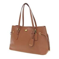 Coach Peyton Leather Drawstring Carryall F29362 Rank Previously Owned No.2591