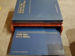 Historical Atlas Of The United States Vintage - Bombay Company Book Storage