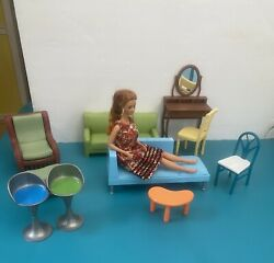 Barbie Furniture Lot 10 Pieces Doll Not Included
