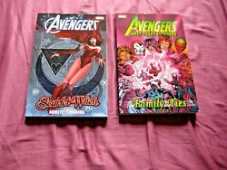 West Coast Family Ties 1 -9 Avengers Scarlet Witch 1 2 3 4 Tpb Graphic Novel