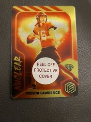 2021 Panini Elements Trevor Lawrence Nuclear Ssp Ultra Rare Rookie Case Hit Mint