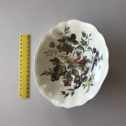 Sol Hand Engraved English Bowl J And G Meakin Vintage Antique