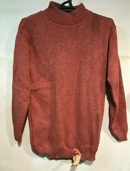 Rus Army Pilot Sweater Woll Camel Red Ussr Afghan War Army Issue Stamped