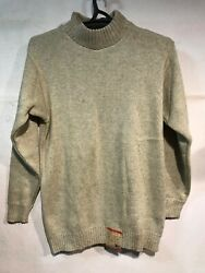 Rus Army Pilot Sweater Woll Camel Biege Ussr Afghan War Army Issue Stamped