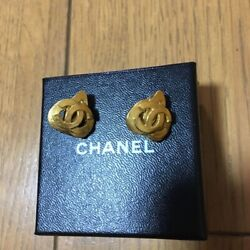 Cc Mark Earrings Vintage Accessories Goods From Japanese K11217