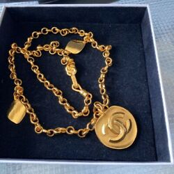 Cc Mark Necklace Vintage Accessories Goods From Japanese K11231