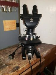 American Optical Spencer Microscope - In Perfect Condition With Case