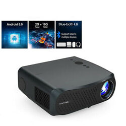 Hd Led 4k Projector Native 1080p Lcd Wifi Android 8500lm Home Theater Video Hd