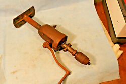 Two Speed Egg Beater Type Hand Cranked Breast Drill Enclosed Gears