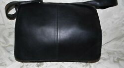 Latico Usa Black 100 Leather Laptop/messenger Bag W Flap And Snap Closure Nwt