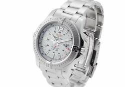 Breitling Colt Automatic Ref.a17388 Stainless Silver Dial 2015 Mens No.4742