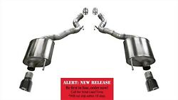 Corsa Performance 14339blk Sport Axle-back Exhaust System Fits 15-17 Mustang
