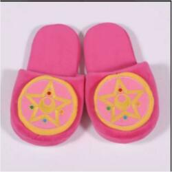 Sailor Moon Crystal Pattern Slippers Room Shoes