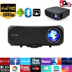 8500lm Native 1080p Led Projector Wifi Android 4k Home Theater Cinema Video Hdmi