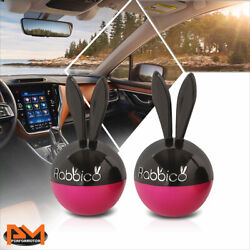 Diax 3g White Musk Scent Room/car Perfume Rabbit Ears Vent Clip-on Air Freshener