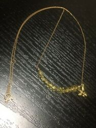 18kt Bee Motif 40cm Necklace Yellow Gold Luxury Accessories Authentic Jp I18669