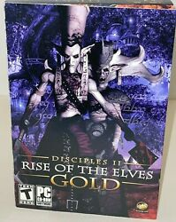Pc Game Disciples Ii 2 The Rise Of The Elves Gold Pc 2006 New Rpg Medium Box