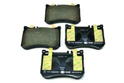 Disc Brake Pad Set-oem - Oe Formulated Friction Material Front Hella-pagid