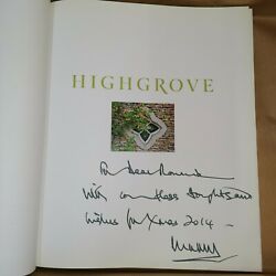 Signed Charles Hrh The Of Wales Highgrove A Garden Celebrated.