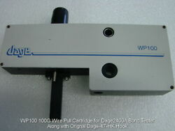 Wp100 100g Wire Pull Cartridge For Dage 2400a Bond Tester Excellent Working