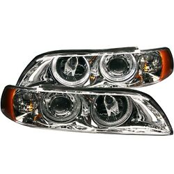 Anzo 121018 Halogen Headlight For 1997-2000 Bmw 528i Left And Right W/bulbs Pair