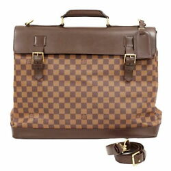Louis Vuitton The Real Thing Lv West End Pm Vintage Damier Ebene 2way No.5694