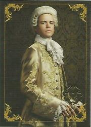 Outlander Season 2 - C7 Character Bios Gold Jacobite Seal Parallel Chase Card