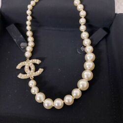 Necklace Coco Mark Vintage Accessories 100 Authentic From Japan K11662