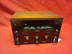 Western Electric Rca 01a Tube Telegraph Telephone Preamp Amplifier